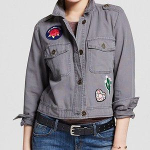 Mossimo Supply patch utility jacket